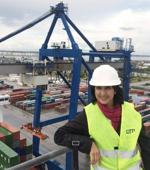 strong performance and executing a global sales strategy at Maersk line